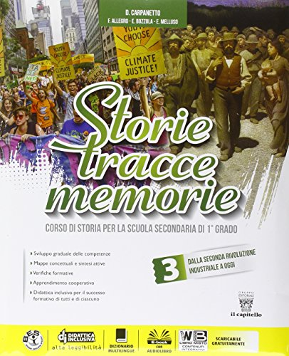 Storie tracce memorie. Per la Scuola media. Con DVD-ROM. Con e-book. Con espansione online: 3