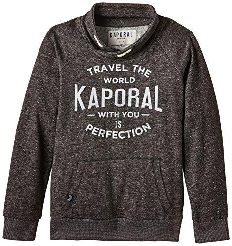 Kaporal - BOLID, Felpa per bambini e ragazzi, grigio (dargrm), 10 anni (Taglia produttore: 10 anni)