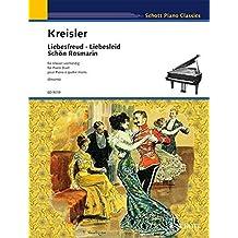 LIEBESFREUD LIEBESLIED & SCHON ROSMARIN -- PIANO DUET PNO/4HD by Fritz Emonts (1997-12-01)