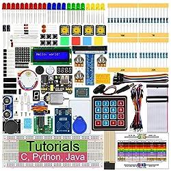 Freenove RFID Starter Kit for Raspberry Pi 3 B+, 423 Pages Detailed Tutorials, Python C Java, 204 Items, 53 Projects, RPi 3B+ 3B 3A+ 2B 1B+ 1A+ Zero W