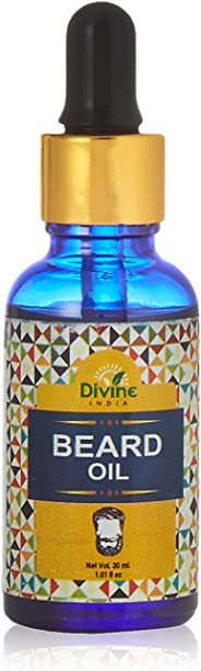 Divine India Beard Oil, 30ml
