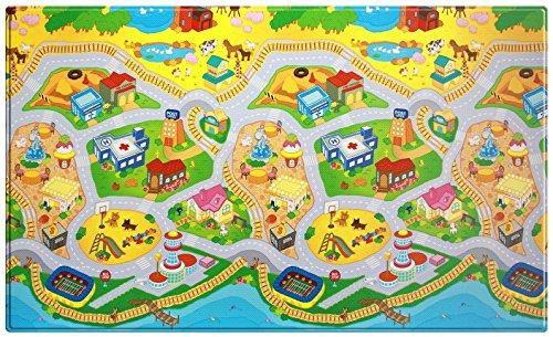 *Spielmatte Dwinguler – My Town – Large – 2,3m * 1,4m * 15mm*
