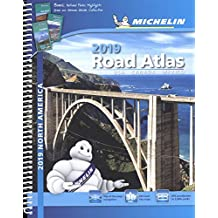 USA Canada Mexico 2019 - Tourist & Motoring Atlas: Tourist & Motoring Atlas A4 spiral (Michelin Road Atlases)