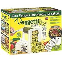 Veggetti - cortador vegetal de la espiral superior de mesa Pro