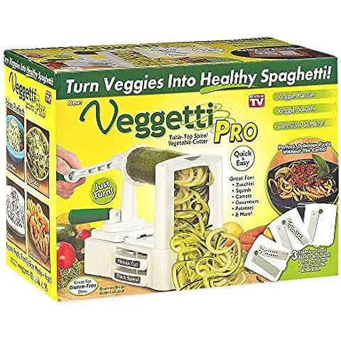 Veggetti - Macchina per affettare a spirale le verdure, per realizzare pasta di verdure