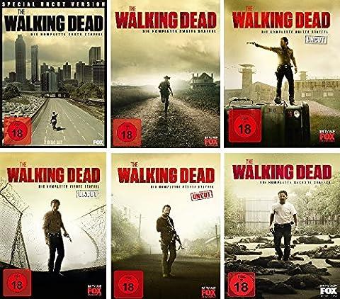 The Walking Dead - Die komplette Staffel 1-6 im Set - Deutsche Originalware [27 DVDs] (Staffel 4 Walking Dead)