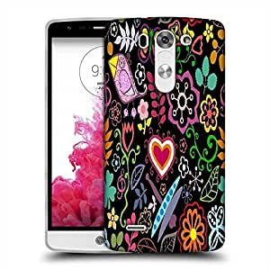 Snoogg colorful floral seamless pattern in cartoon style seamless pattern Designer Protective Back Case Cover For LG G3 BEAT STYLUS