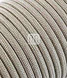 merlotti 20362Elektrische Kabel rund H03VV 2x 0,75, Canvas Sand, 3m