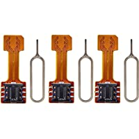 Zither Gadgets2use Hybrid Sim Adapter (Pack of 3)