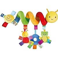 VORCOOL Kid lit berceau Landau de bébé suspendus hochets spirale poussette siège auto jouet avec sonnerie