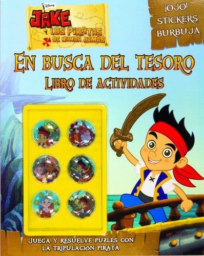 Jake y los piratas. En busca del tesoro: Libro de actividades (Disney. Jake y los piratas)