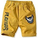 EULLA Pantalones cortos de verano para niños y bebés, diseño de letras, pantalones cortos para niños