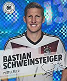 GLITZER KARTE / REWE DFB WM 2014 Bastian Schweinsteiger Nr. 13 / 34 Sammelkarte Sticker