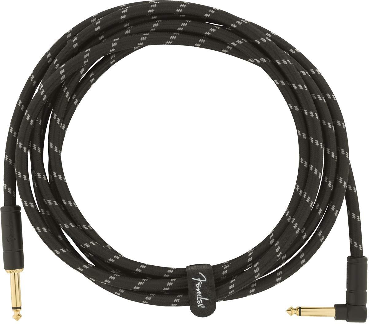 bk tweed angled Fender Kabel Deluxe Series 5,5m