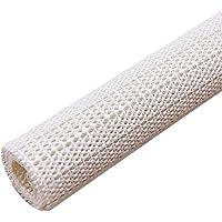 VOSAREA rutschfeste Teppich Matte wasserdichte Fußmatte Waschbar Badematte Free zum Schneiden 350mm*500mm (Beige)