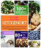 KETOGENIC DIET: Keto for Beginners Guide, Keto Meal Plan Recipe Cookbook, Keto Dessert Recipes, Intermittent Fasting Beginners Guide (Ketogenic cookbook)