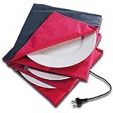 Solis Chauffe Plat Maxi Gourmet 865 Ø 32cm - Chauffe Platt Electrique - Arrêt automatique après 5 heures - Double isolation -