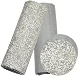 #9: Kadambaby - 2 pack of 100% cotton muslin swaddle blankets / Large size muslin baby wraps. Baby theme baby Blanket