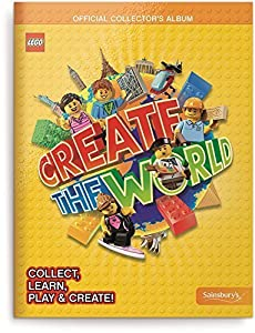 LEGO Create The World Collector's Album Book - Official
