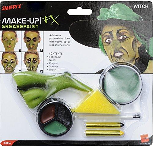 (Smiffy's 37804 Make-up-Kit für Hexen)
