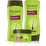 Trichup Keratin Kit (Shampoo 200 ml, Conditioner 200 ml, Hair Cream 200 ml)