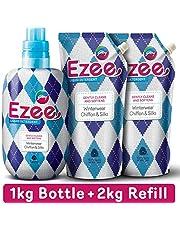 Ezee Liquid Detergent - 1kg bottle + 2 x 1kg refills