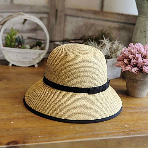LLZTYM Chapeau/Femelle/Été/Pliant/Chapeau/Chapeau/Chapeau/Pêcheur/Cadeaux DEmballage yellow