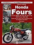 How to Restore Honda Fours: Covers CB350, 400, 500, usato  Spedito ovunque in Italia