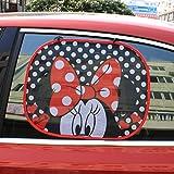 Paio parasole laterale pieghevole per auto finestrini, statica...