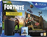 PS4 slim 500 Go E - noir + Fortnite