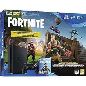 Sony Playstation 4 Slim 500GB inkl. Fortnite Royal Bomber