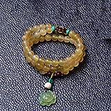 Mayanyan Klaue Multi-Kreis Hand String Lotus Abacus Beads Paare Armband Geschenk natürliche