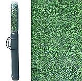 Pal Ferretería Industrial Rollo de seto Artificial ignífugo Verde de ocultación 3x2m