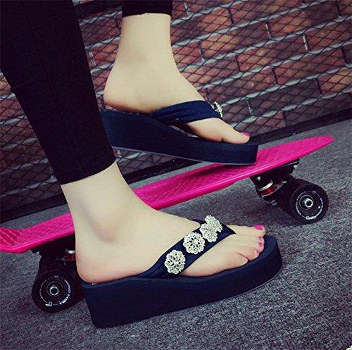 pengweiPendenza e pattini freddi delle scarpe da spiaggia di piede del piede del drago di modo delle estati delle signore del pistone 5