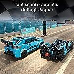 LEGO-Speed-Champions-Panasonic-Jaguar-Racing-GEN2-e-Jaguar-I-PACE-eTROPHY-Modelli-che-Corrono-in-Formula-E-con-2-Minifigure-Set-di-Costruzioni-per-Bambini-8-Anni-76898