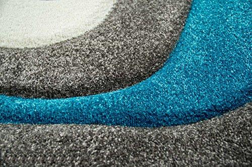 Tappeto Moderno Turchese : Traum living designer stanza tappeto tappeto moderno moquette a
