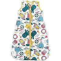 Sacos de Dormir para Bebé, Diversión en la Playa, Kiddy Kaboosh Varios Tamaños, Peso de Verano, 1.0 Tog