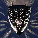 Orientalische Wandlampe arabische Leuchte Dekoration Schmiedeisen Marokko