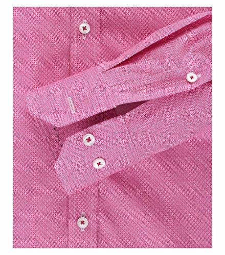 Michaelax-Fashion-Trade -  Camicia classiche  - A pois - Classico  - Maniche lunghe  - Uomo Rot (400)