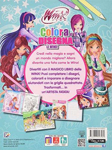 Colora disegna le winx winx club ediz illustrata con for Libri da acquistare on line