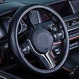 Auto Leder Lenkradbezug Universal atmungsaktiv rutschfeste Rad Sleeve Displayschutzfolie
