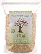 Ojal Organic Moong Dal Green Gram Split Yellow Without Chilka 1Kg