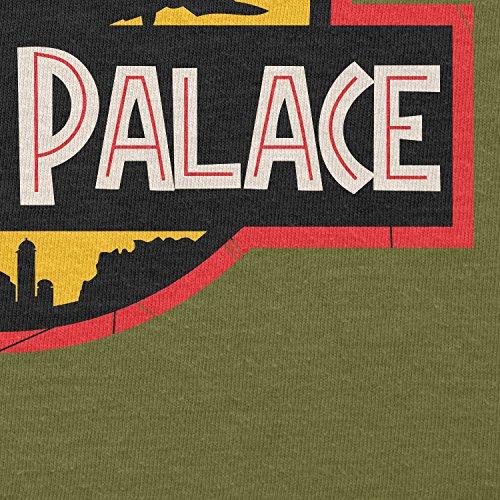NERDO - Jabba's Palace - Herren T-Shirt Oliv