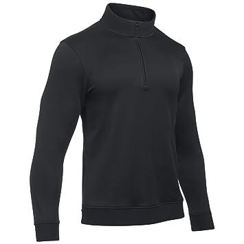 under armour 2017. under armour 2017 mens crestable sweaterfleece qz pullover - black l t