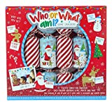 TOYLAND Pack of 6 - Who Or What I I Christmas Crackers - Christmas Party Games - Cracker di Natale