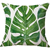 Best Better Home Patio Furniture Sets - MAYUAN520 Cushion、Decorative Pillows Green Leaves Cushion Cover Tropical Review