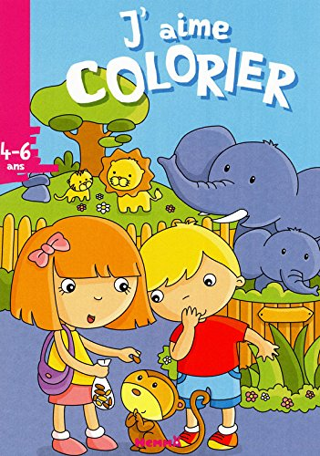 J'aime colorier (4-6 ans) zoo