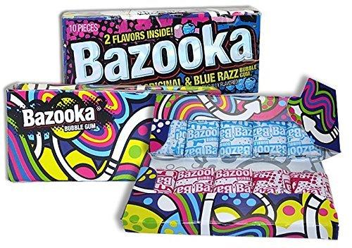 BUBBLE GUM BAZOOKA 2.5OZ by BAZOOKA MfrPartNo 114684 by Bazooka (Gum Bubble Bazooka Bazooka)