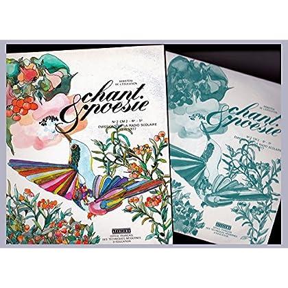 Chant et Poésie n° 2 CM2 - 6e - 5e 1976-1977 Radio Scolaire Livret + DISQUES