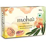 moha: Scrub Soap, 100 g (Pack of 3)